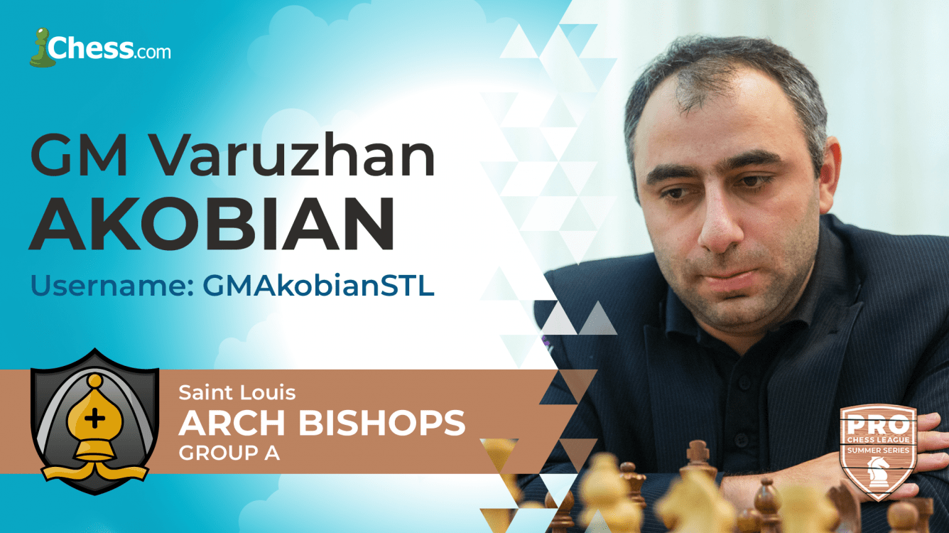 PRO Chess League Summer Series: Akobian Dominates, Arch Bishops Lead Group A