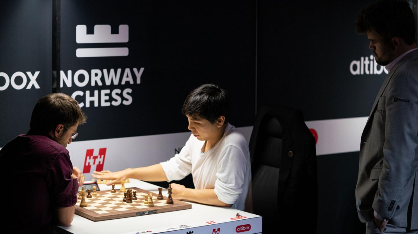 Blunders Galore In Norway Chess Round 6