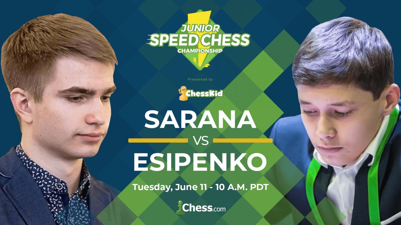 Junior Speed Chess: Sarana-Esipenko preview