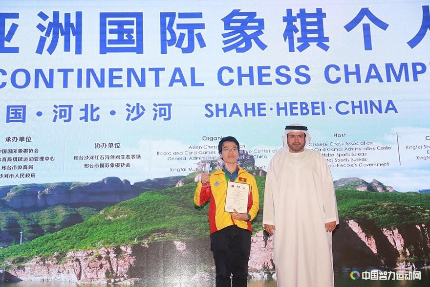 Le Quang Liem Wins Asian Continental Chess Championship