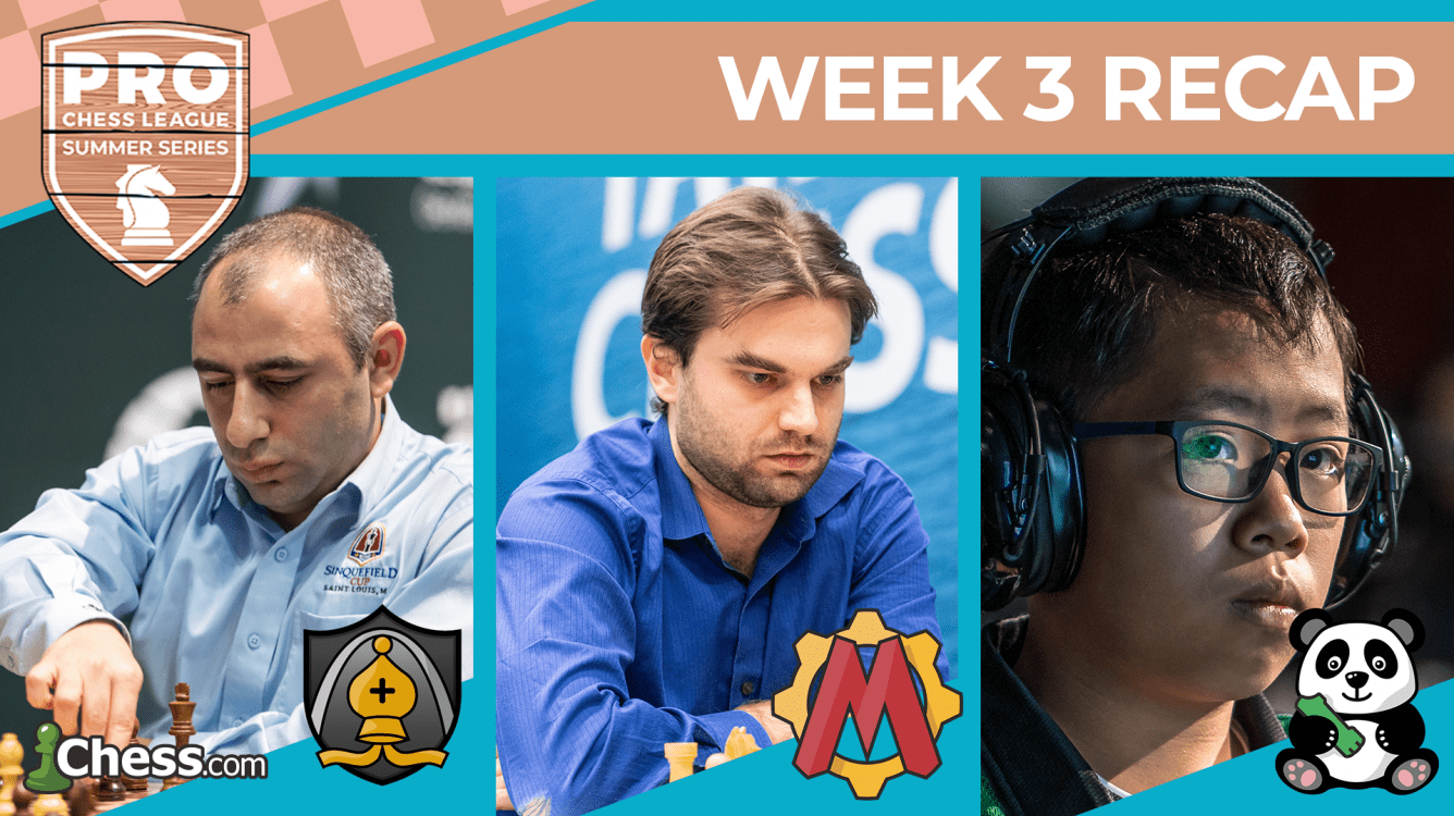 PRO Chess League Summer Series: Saint Louis, Chengdu Earn Spots in Summer Series Championships