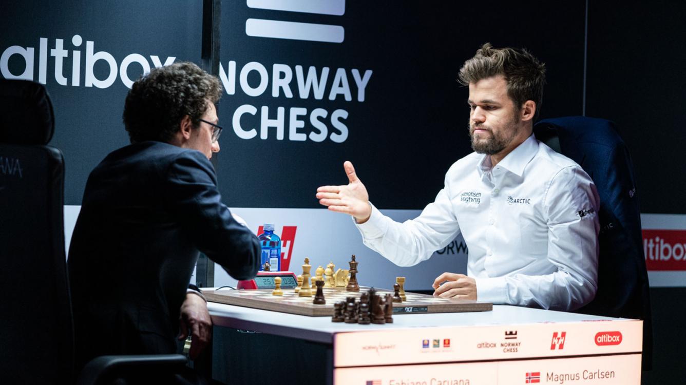 Norway Chess: Caruana vence a Carlsen en el Armageddon