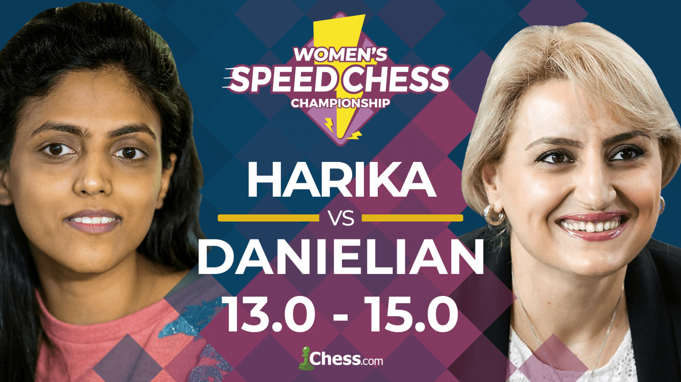 Danielian Beats Harika To Reach Women's Speed Chess Final