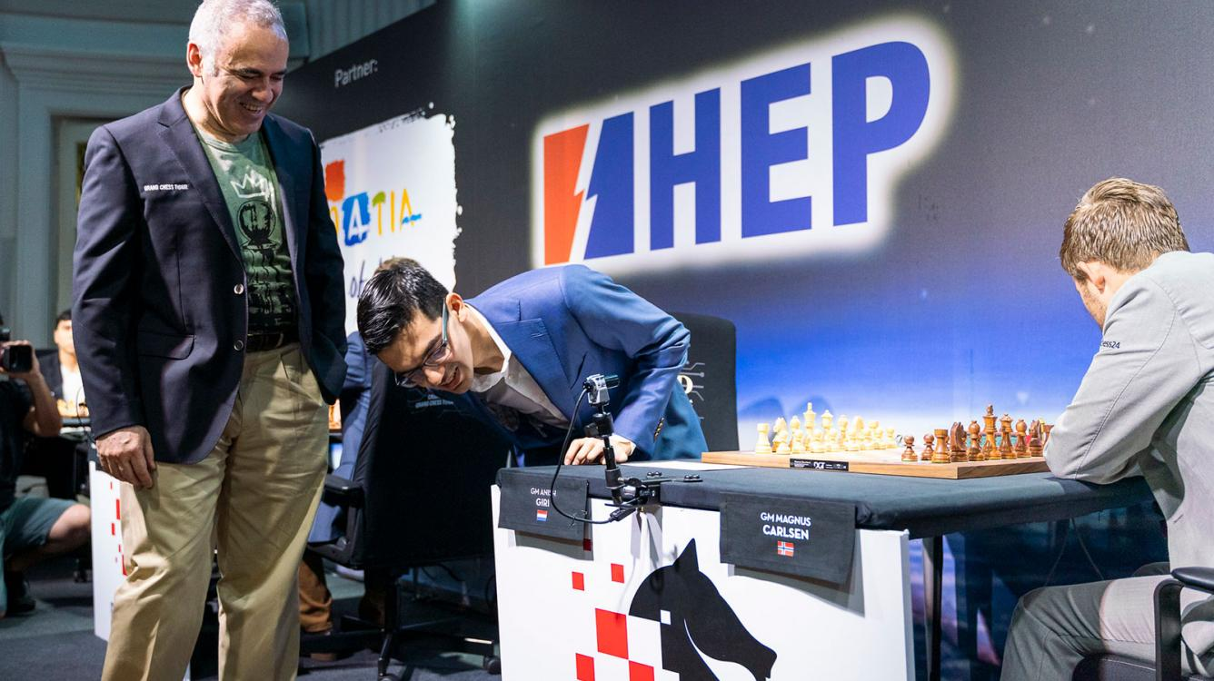 Carlsen Wins In 23 Moves As Grand Chess Tour Resumes