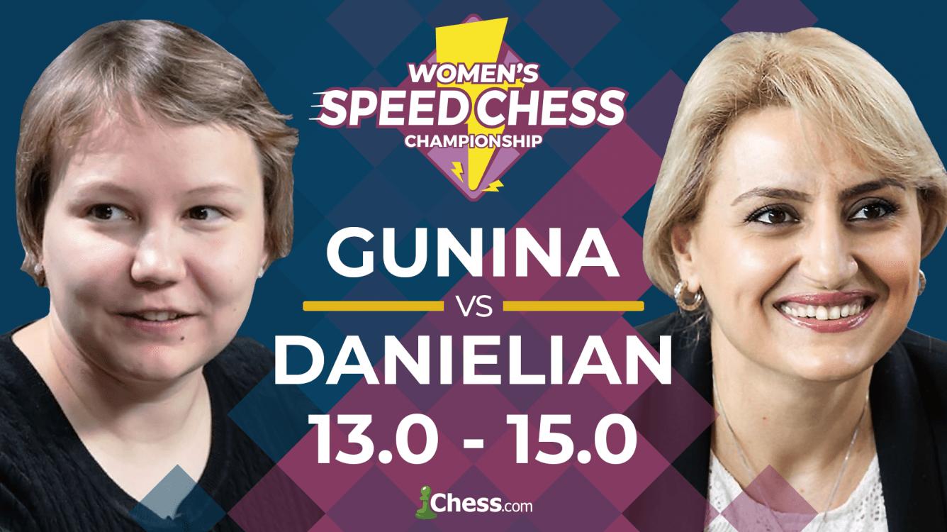 Underdog Danielian Wins Women's Speed Chess Championship