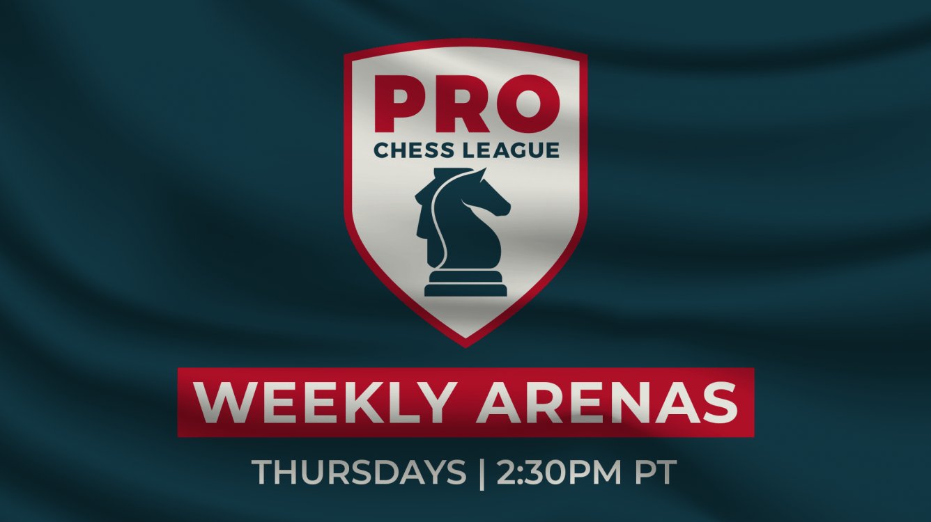 Introducing PRO Chess League Weekly Arenas!