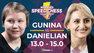 Danielian gana el Speed Chess Championship Femenino