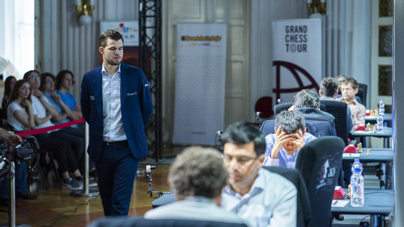 Carlsen Downs Ding For 1st Time In Classical, Continues Dominance At GCT Croatia