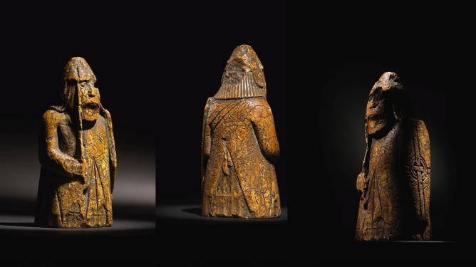 Antike Schachfigur bringt bei einer Auktion £ 735.000