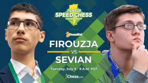 Junior Speed Chess Championship: Firouzja vs. Sevian