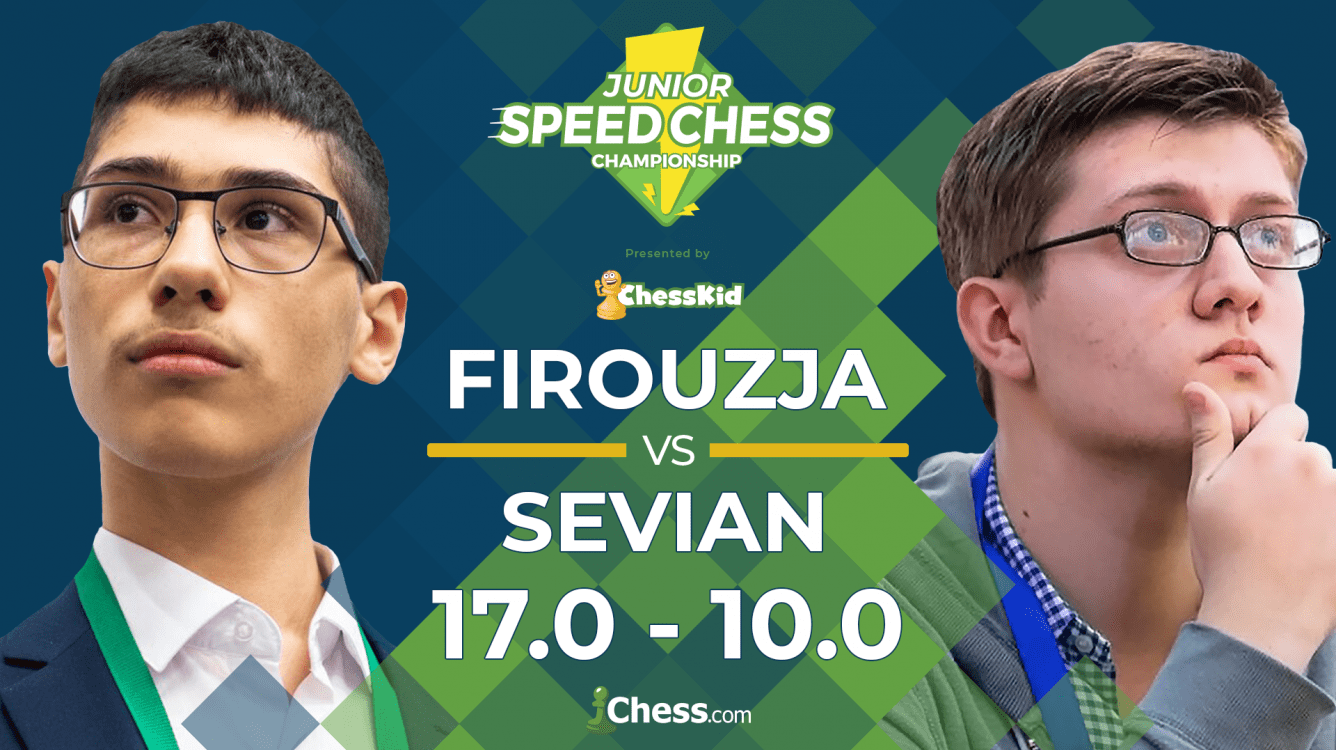 Firouzja Beats Sevian To Reach Junior Speed Chess Semifinals