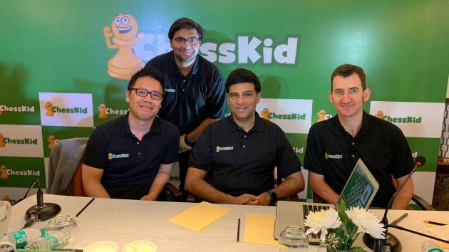 Ананд и ChessKid объединяются для развития детских шахмат в Индии