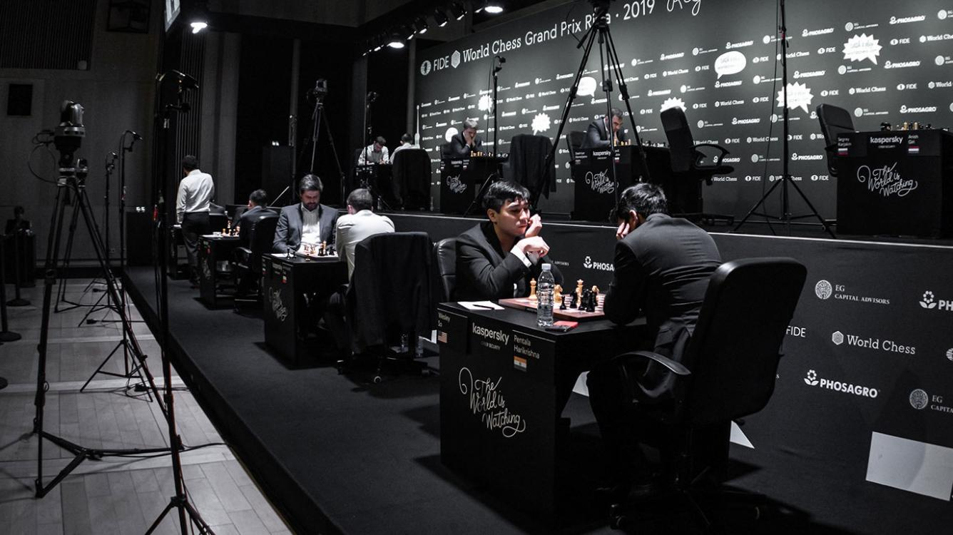 Vachier-Lagrave Wins In 19 Moves In Riga Grand Prix