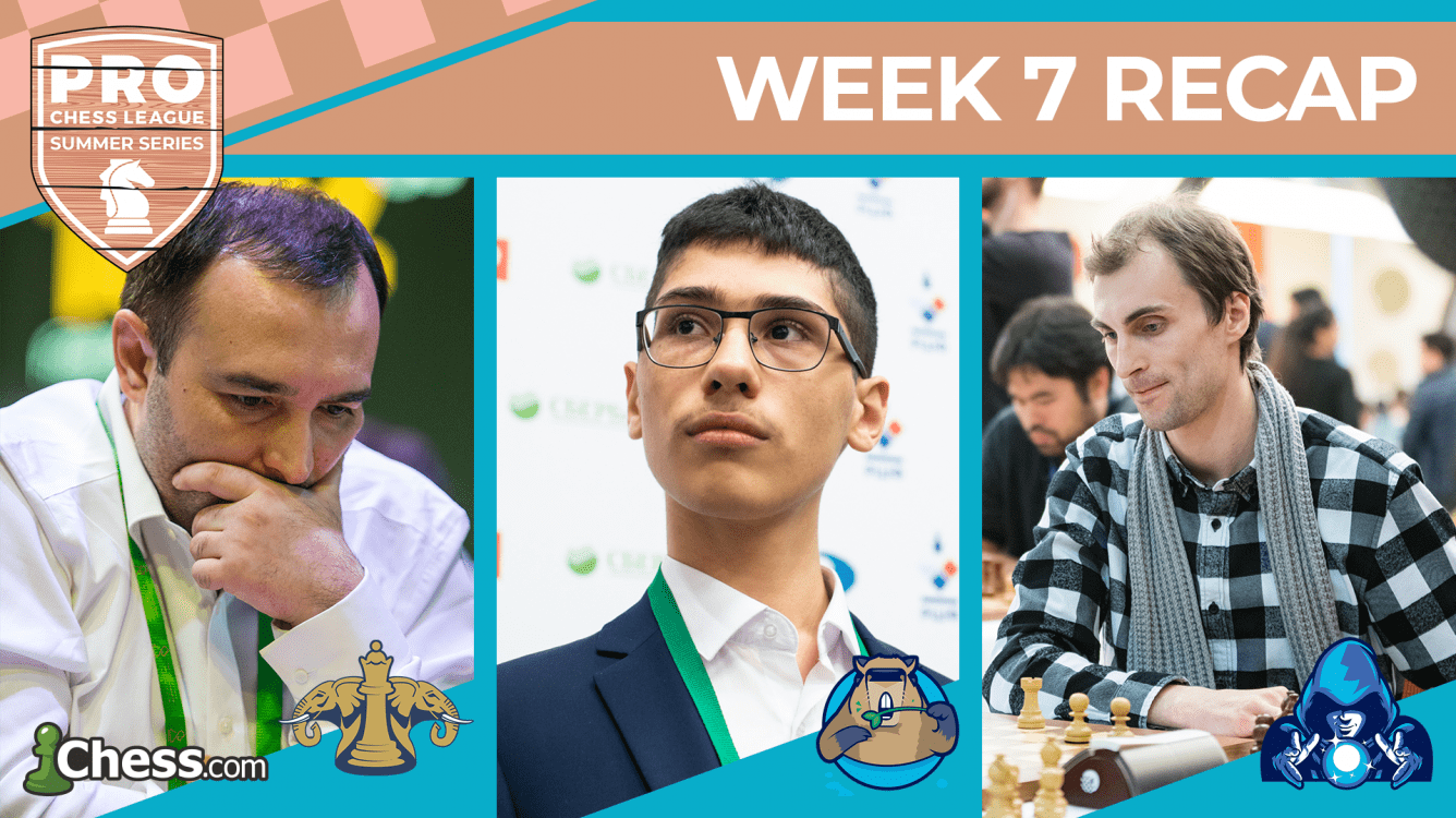 PRO Chess League Summer Series: Movers Shine, Wizards Spoil Capybaras' Debut