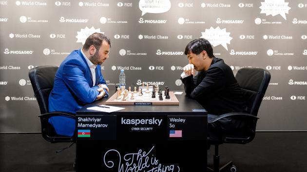 2848246ddcc Riga Grand Prix: Mamedyarov Lone Winner On Day 1 Semifinals