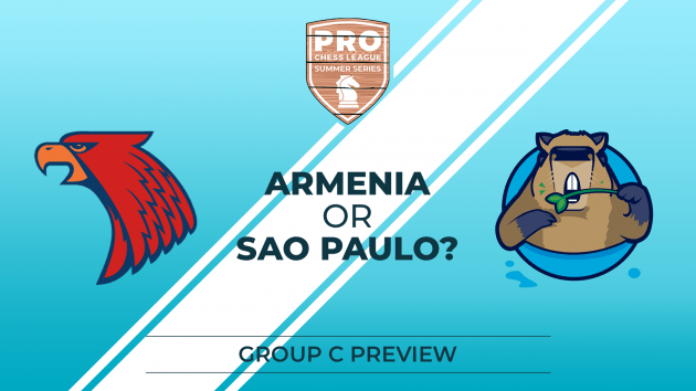 PRO Chess League Summer Series: Race Intensifies; Armenia, Sao Paulo In Trouble
