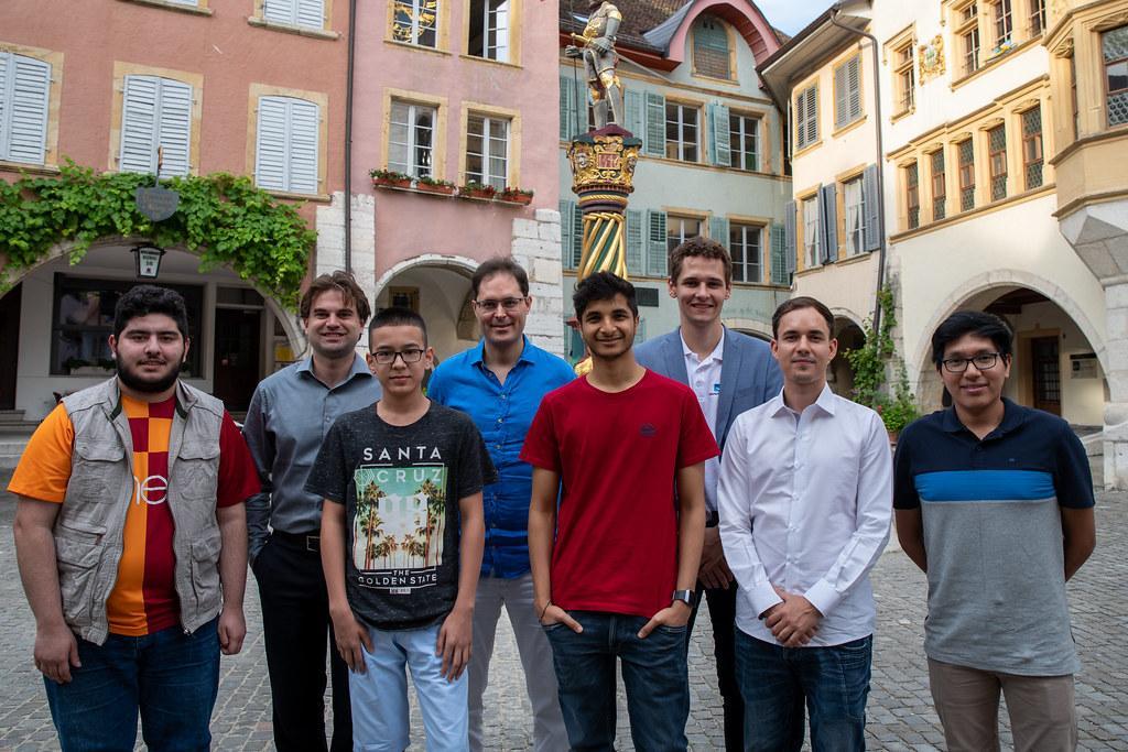 Shankland, Vidit Lead Biel Chess Festival