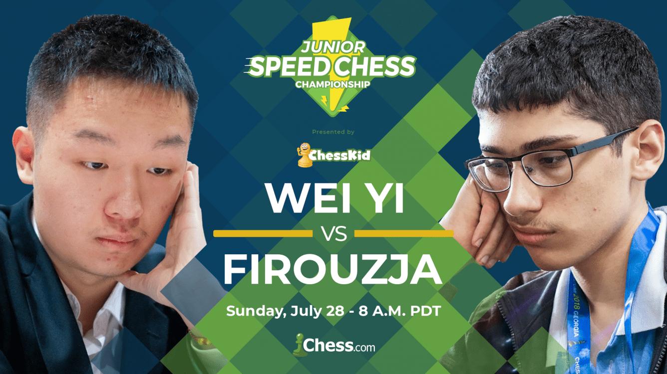 Junior Speed Chess Semifinal: Wei Yi vs. Firouzja