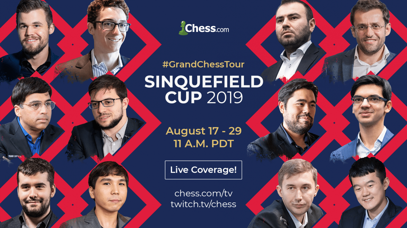 Chess.com's Grand Chess Tour Coverage Rolls On With The Sinquefield Cup