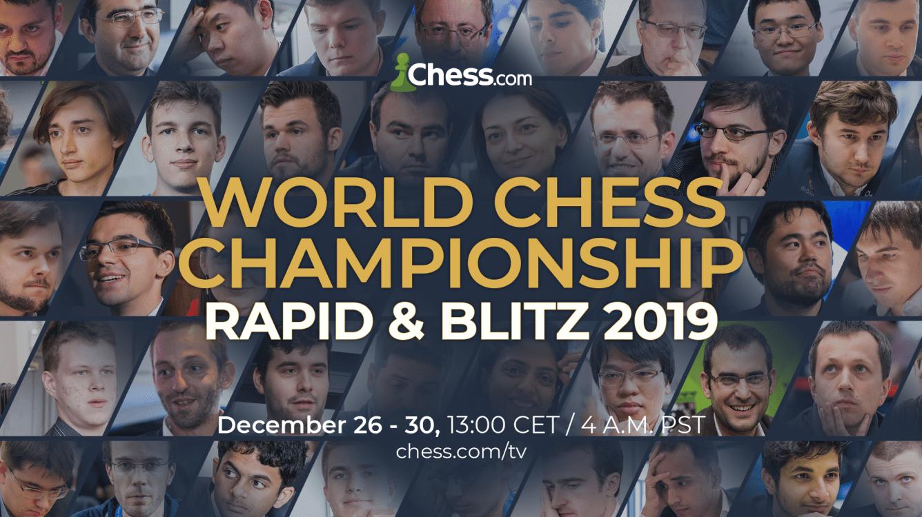 Chess.com Coverage Of World Rapid & Blitz Begins Thursday
