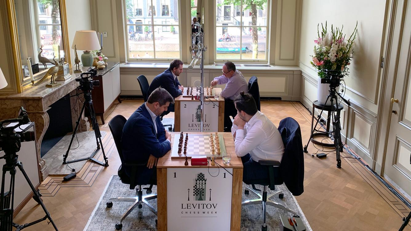 Kramnik Back On The Board As Levitov Chess Week Starts In Amsterdam