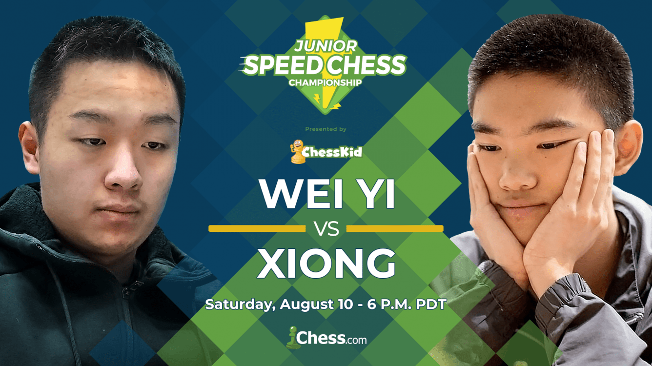 Saturday: Nakamura Commentator For Junior Speed Chess Final, Wei Yi vs. Xiong