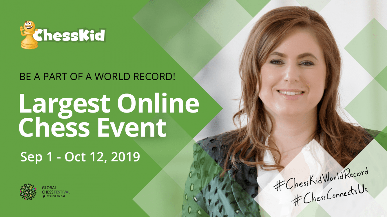 Join ChessKid And Judit Polgar To Set A World Record! (Updated)