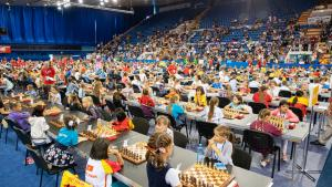 Чемпионат мира по быстрым шахматам среди школьников стартовал в Минске