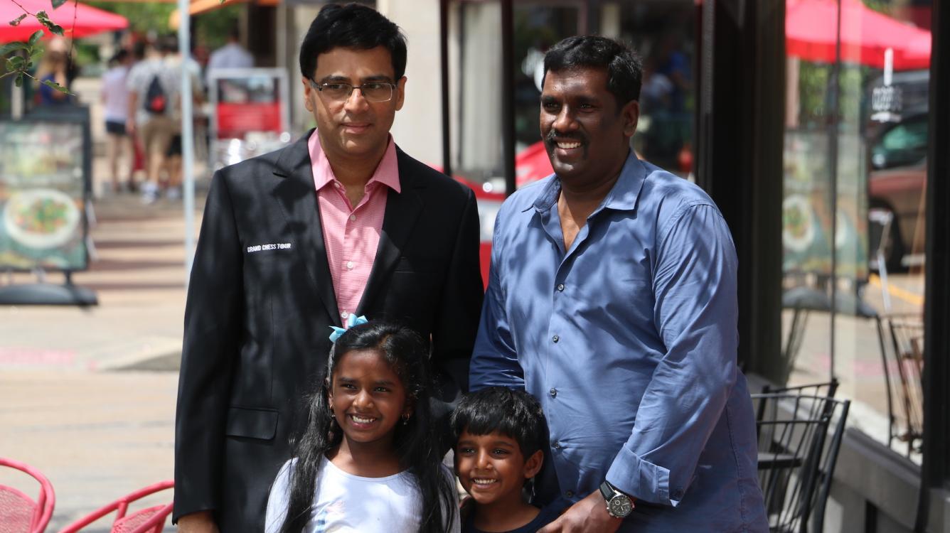 Вишванатан Ананд выходит вперед после первого тура в Сент-Луисе