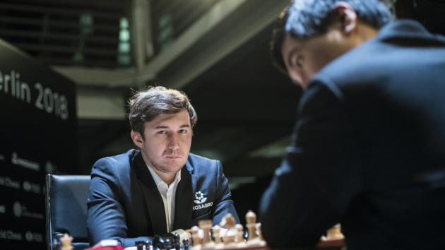 Karjakin Headlines Thursday's Fischer Random Chess Championship Knockout Qualifier