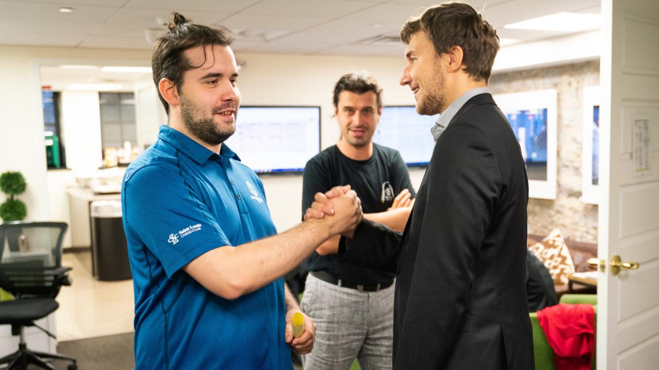 Russians Win As 5 Players Share Lead At Sinquefield Cup