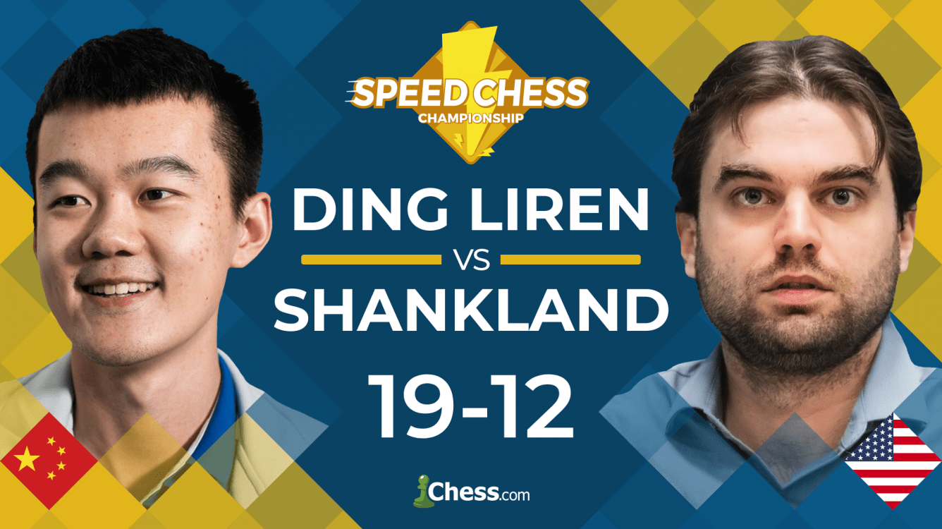 Ding Liren Defeats Shankland In Speed Chess Opener
