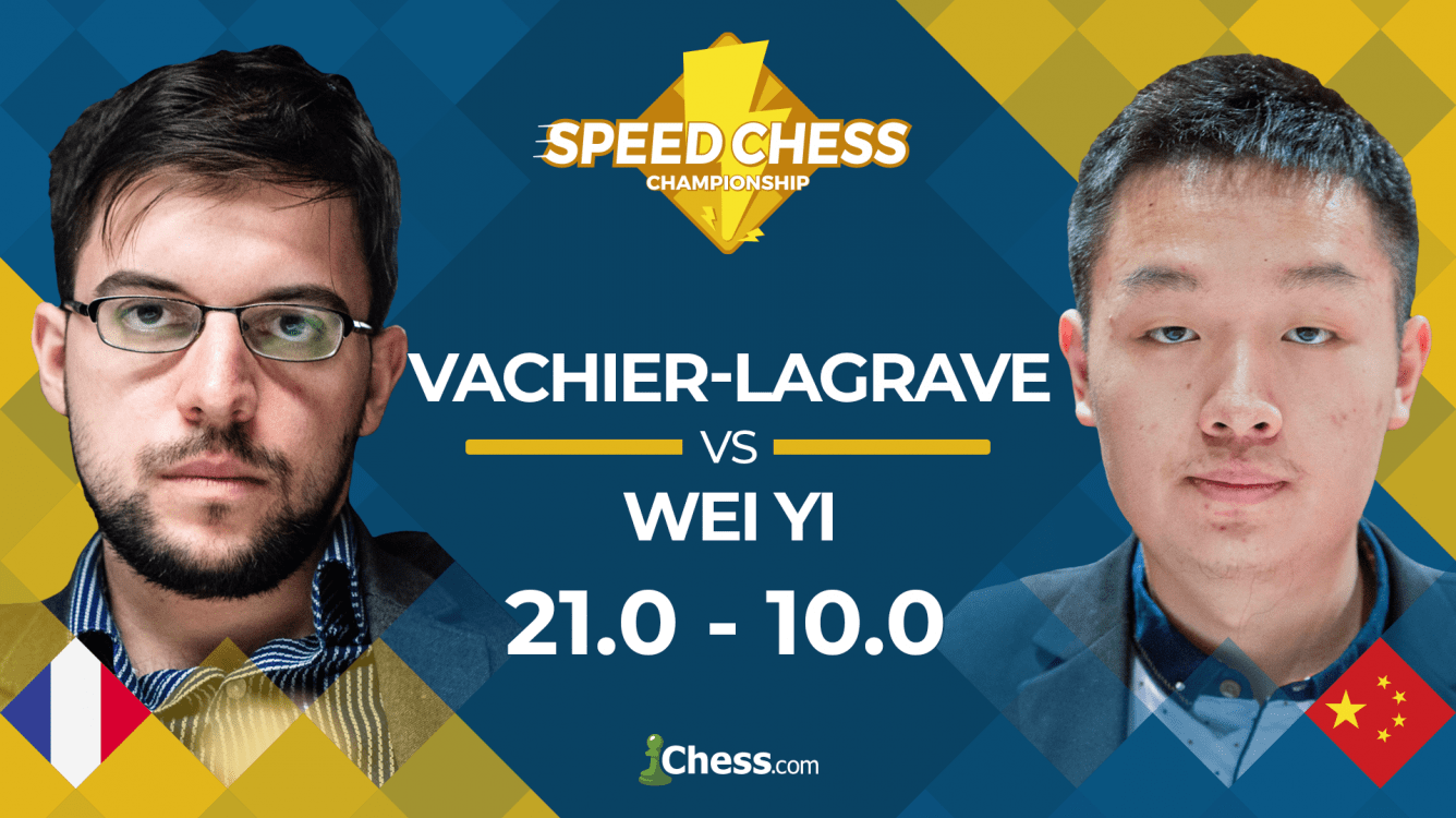 Vachier-Lagrave Crushes Wei Yi In Speed Chess Championship
