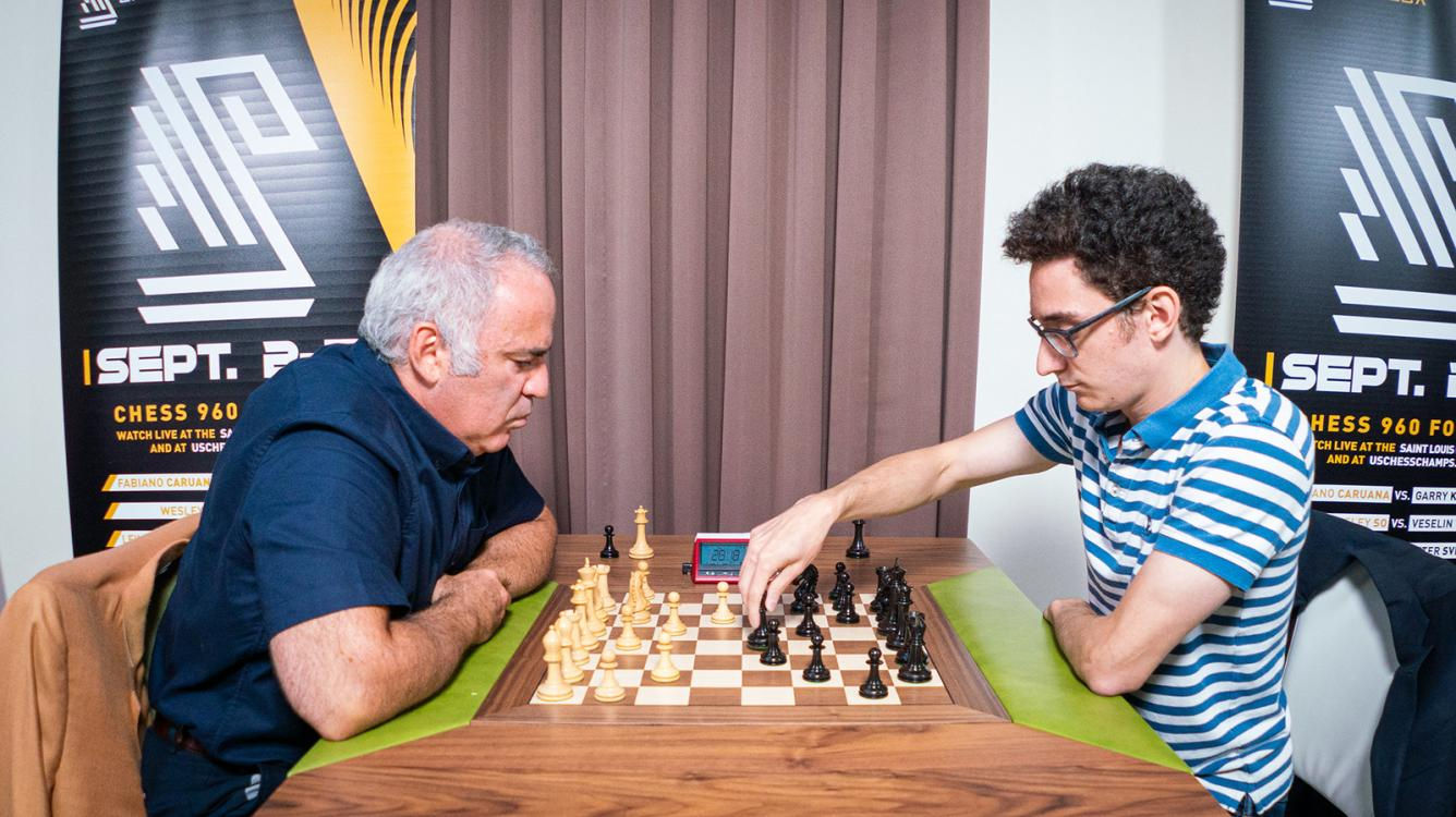 Champions Showdown Chess9LX: Caruana Wins Match With Kasparov