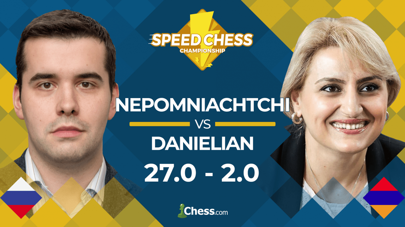 Nepomniachtchi Defeats Danielian, Sets Speed Chess Record