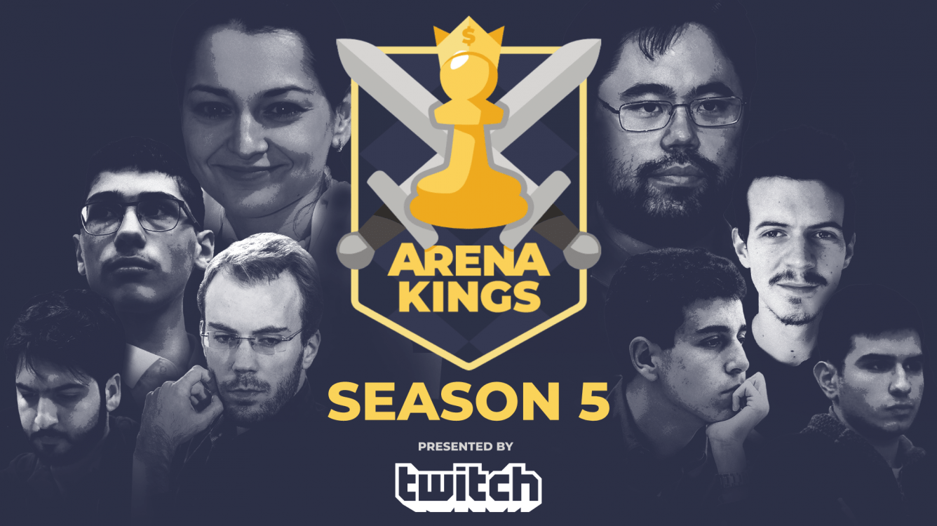Arena Kings Returns With Season 5 Presented By Twitch