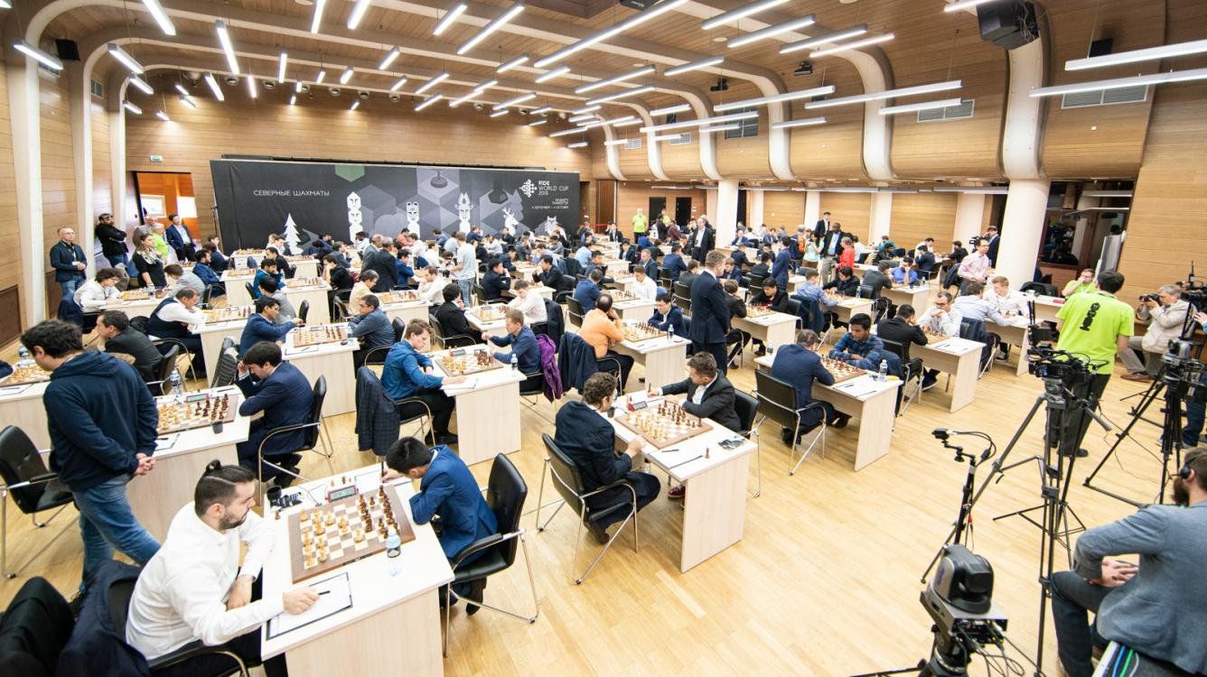 Navara, Naiditsch, Ponomariov, Wojtaszek Early Victims At FIDE Chess World Cup