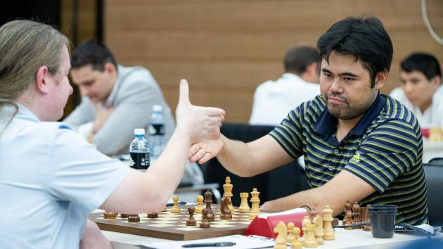 Nakamura Eliminated From FIDE Chess World Cup