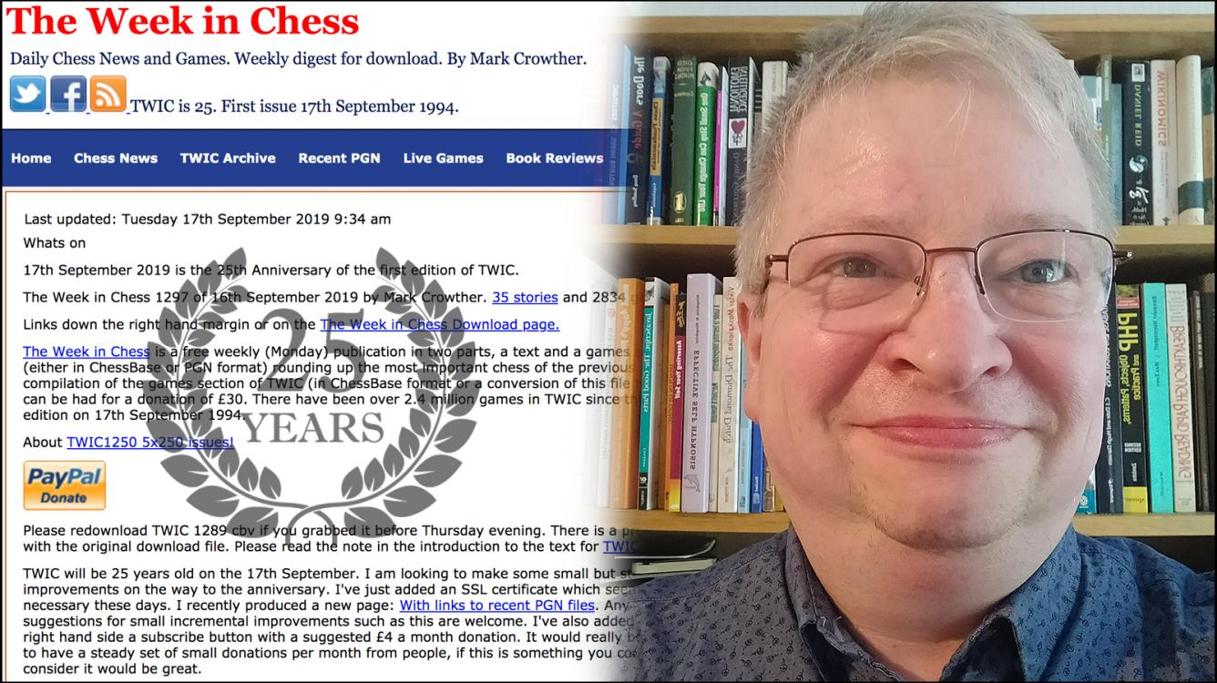 25 Years Of The Week In Chess