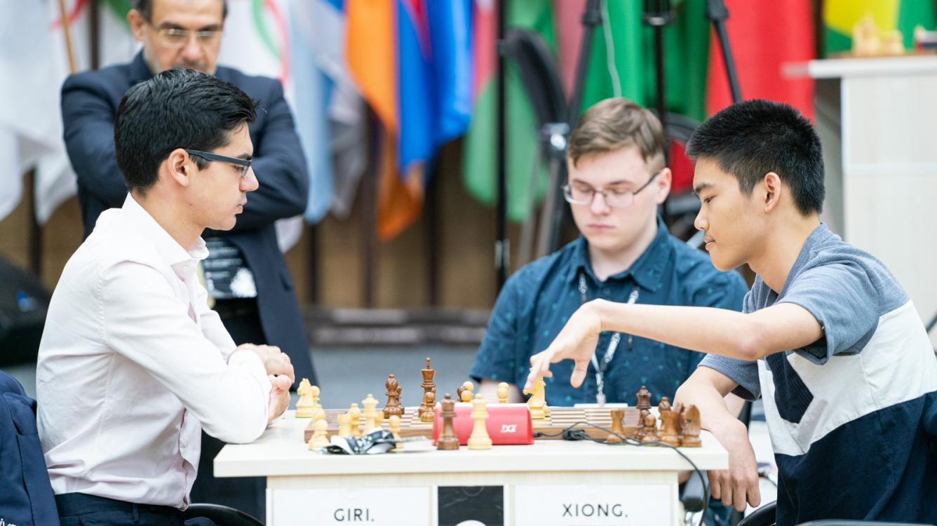 FIDE Chess World Cup: Xiong Sends Giri Home