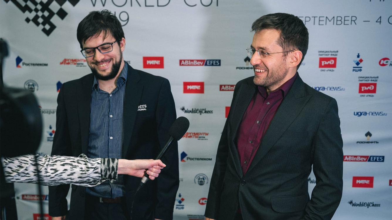 FIDE Chess World Cup Quarterfinals Start Peacefully
