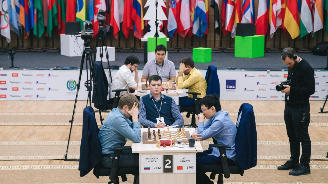 FIDE Chess World Cup: Dramatic Exits For Aronian, Vitiugov As MVL, Yu Advance