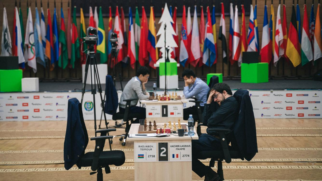 FIDE Chess World Cup Semifinals Start With Draws