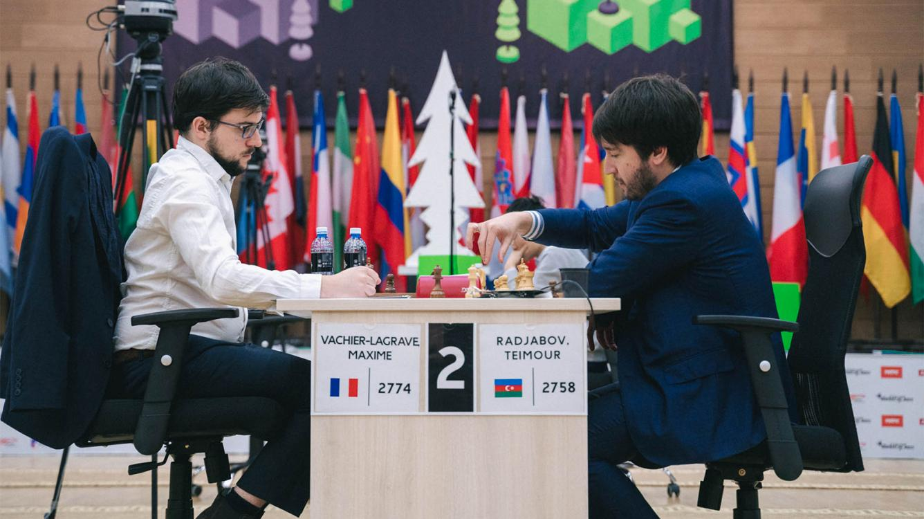 FIDE Chess World Cup: Radjabov Knocks Out MVL, Qualifies For Candidates