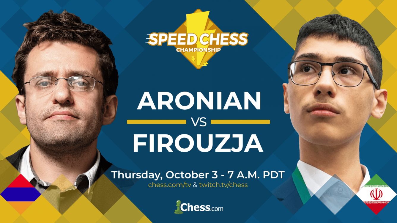 Today: Speed Chess Championship Doubleheader