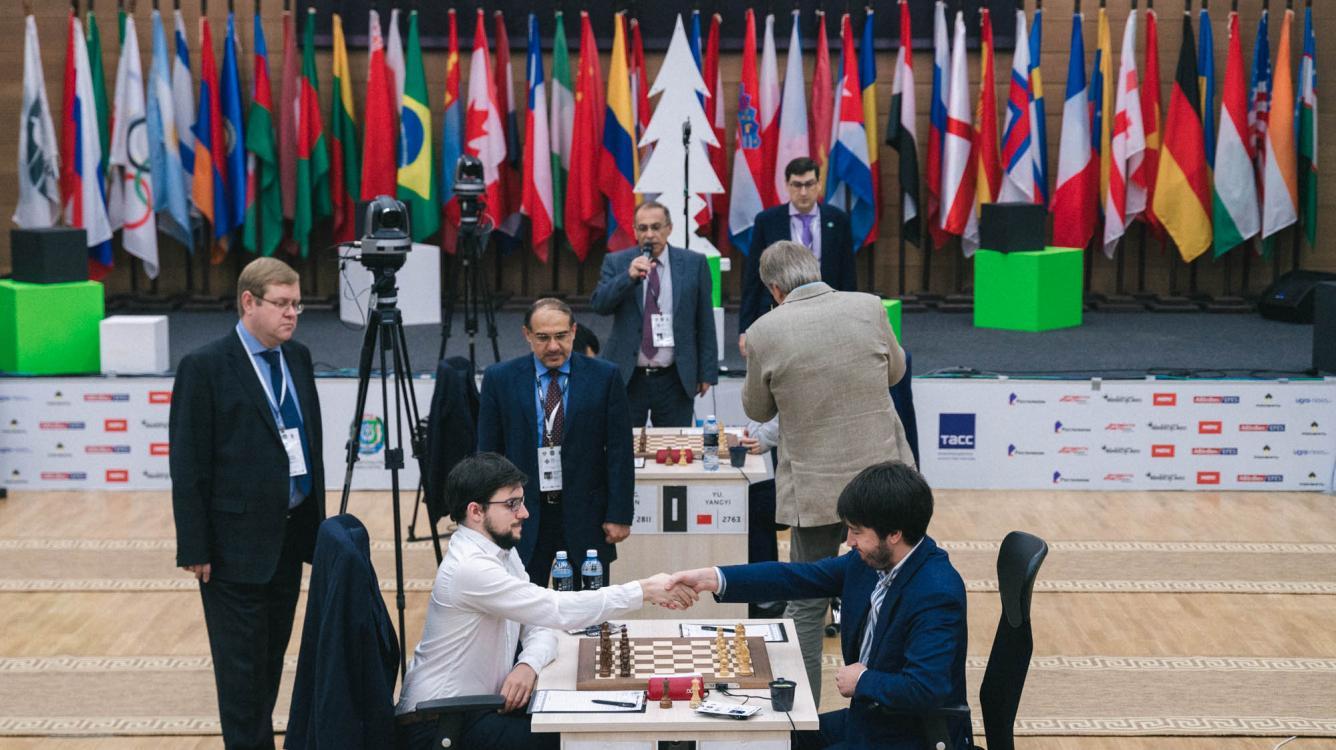 Radjabov y Liren finalistas de la Copa del Mundo de ajedrez