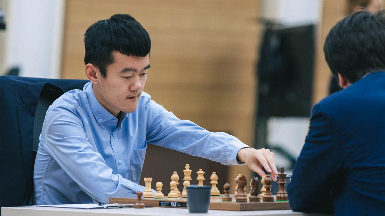 FIDE Chess World Cup: Ding Opens Score Against Radjabov