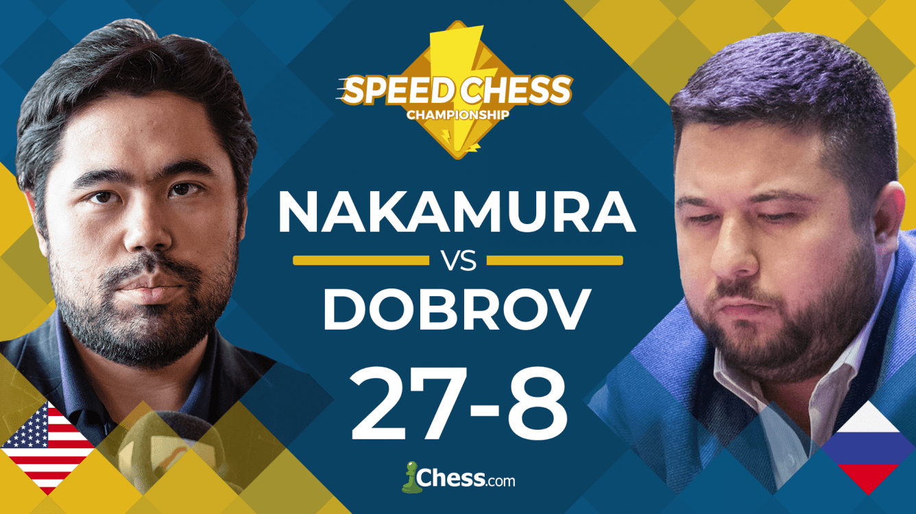 Nakamura Routs Dobrov In Speed Chess Championship