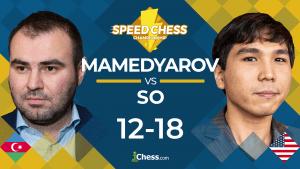 So Surges To Win vs Mamedyarov: Speed Chess Championship
