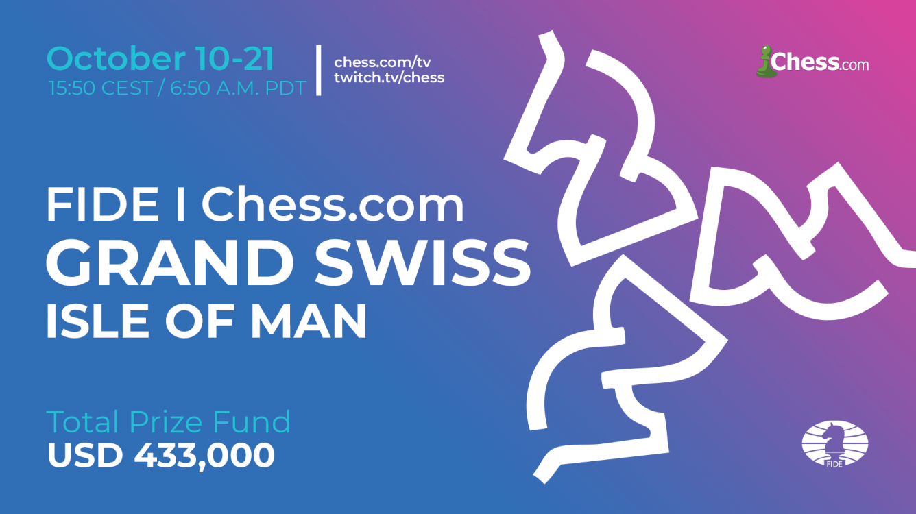 FIDE Chess.com Grand Swiss Starts Thursday
